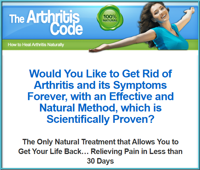 Luis Arce's The Arthritis Code Review - theblogpoint.com