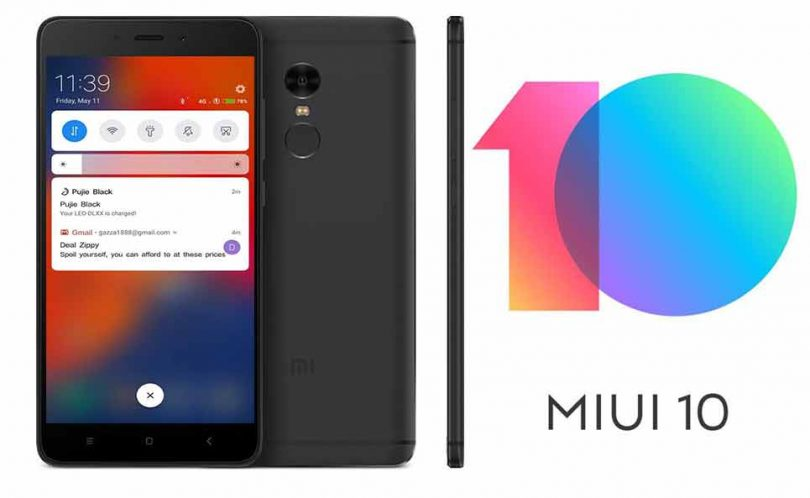 New MIUI 10 firmware for Xiaomi - theblogpoint.com