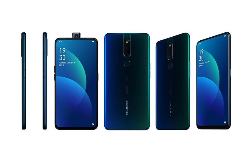 Oppo F11 Pro smartphone with slider frontal camera based on MediaTek platform - theblogpoint.com