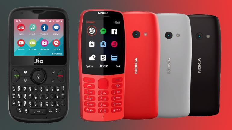 Presented Nokia 210 Button phone with good design and low price - theblogpoint.com