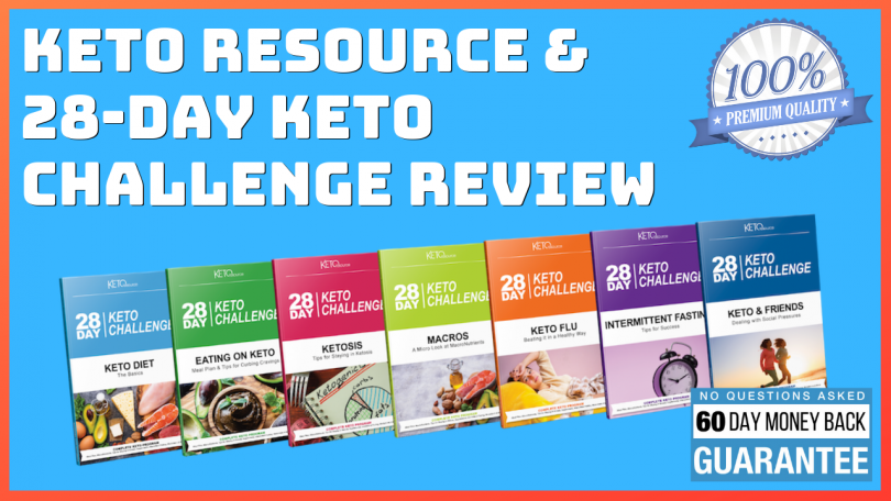 Keto Resource or 28 Day Keto Challenge Review
